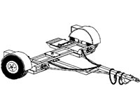 Heavy Duty Car Dolly Plans (1000)