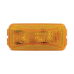 Amber Mini Thin Line Sealed LED Marker/Clearance Light