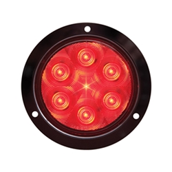 "FLEET Count™ 4"" Round Sealed LED Stop/Turn/Tail Light Flange Mount"
