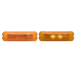 FLEET Count™ Thinline Sealed Amber LED Marker/Clearance Light