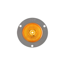"FLEET Count™ 2"" Flange Mount Amber LED Marker/Clearance Light"
