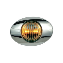 "Clear Lens Millennium Series 3"" Sealed LED Marker/Clearance Light Yellow"