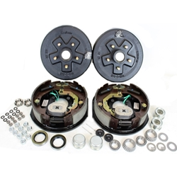 "5-4.5"" Bolt Circle 3,500 lbs. Trailer Axle Electric Brake Kit With Timken Bearings"
