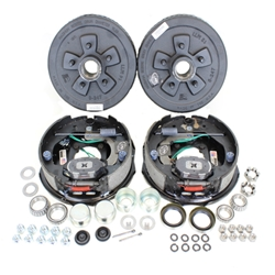"Dexter 5-4.5"" Bolt Circle 3,500 lbs. Trailer Axle Electric Brake Kit With Timken Bearings"