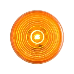 "2"" Amber Marker/Clearance Light w/Weathertight Connection"