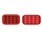 Miro-Flex Rectangular LED Stop/Turn/Tail Light (Red)