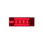 "8"" Rectangle GloLightTM Stop/Turn/Tail Light STL117RB"