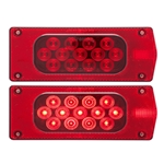 LED Combination Tail Light Passenger Side 17 Diodes