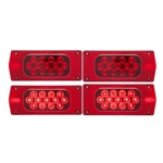 LED Combination Tail Light Driver Side w/ 6-LED license light  &  Passenger Side