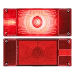 ONE™ LED Low Profile Marine Driver Side Tail Light w/LED License Light