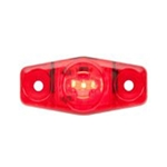 Red Mini Sealed LED Horizontal-Vertical  Marker/Clearance Light