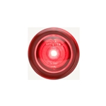 "3/4"" Sealed Red LED Marker/Clearance Light with Theft-Deterrent Design"