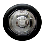 "Clear Lens Uni-Lite™ 3/4"" Red LED Non-Directional Marker/Clearance Light"