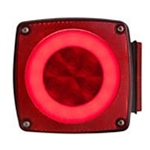 GloLight Waterproof LED Combination Tail Light Driver Side