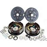 "5-5.5"" Bolt Circle 3,500 lbs. Trailer Axle Electric Brake Kit With Timken Bearings"
