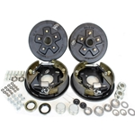 "5-4.75"" Bolt Circle 3,500 lbs. Trailer Axle Hydraulic Brake Kit With Timken Bearings"