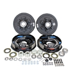 "Dexter 6-5.5"" Bolt Circle 5,200 lbs. Trailer Axle Electric Brake Kit With Timken Bearings"