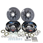 "Dexter 8-6.5"" Bolt Circle 7,000 lbs. Trailer Axle Electric Brake Kit With Timken Bearings"